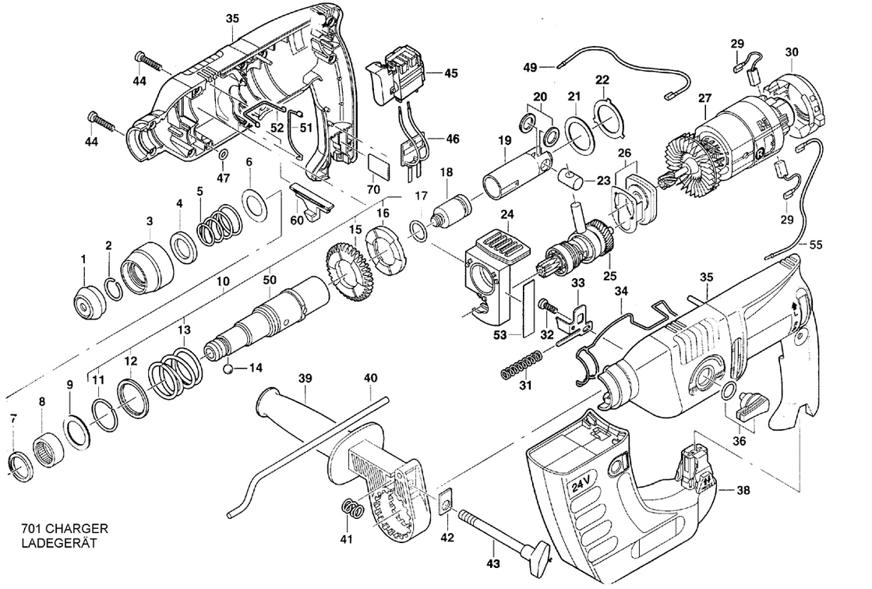 240 PAH // 2,0 set Kohlebürsten Motorkohlen für Kress 900 PSH APH 240 240 PAH