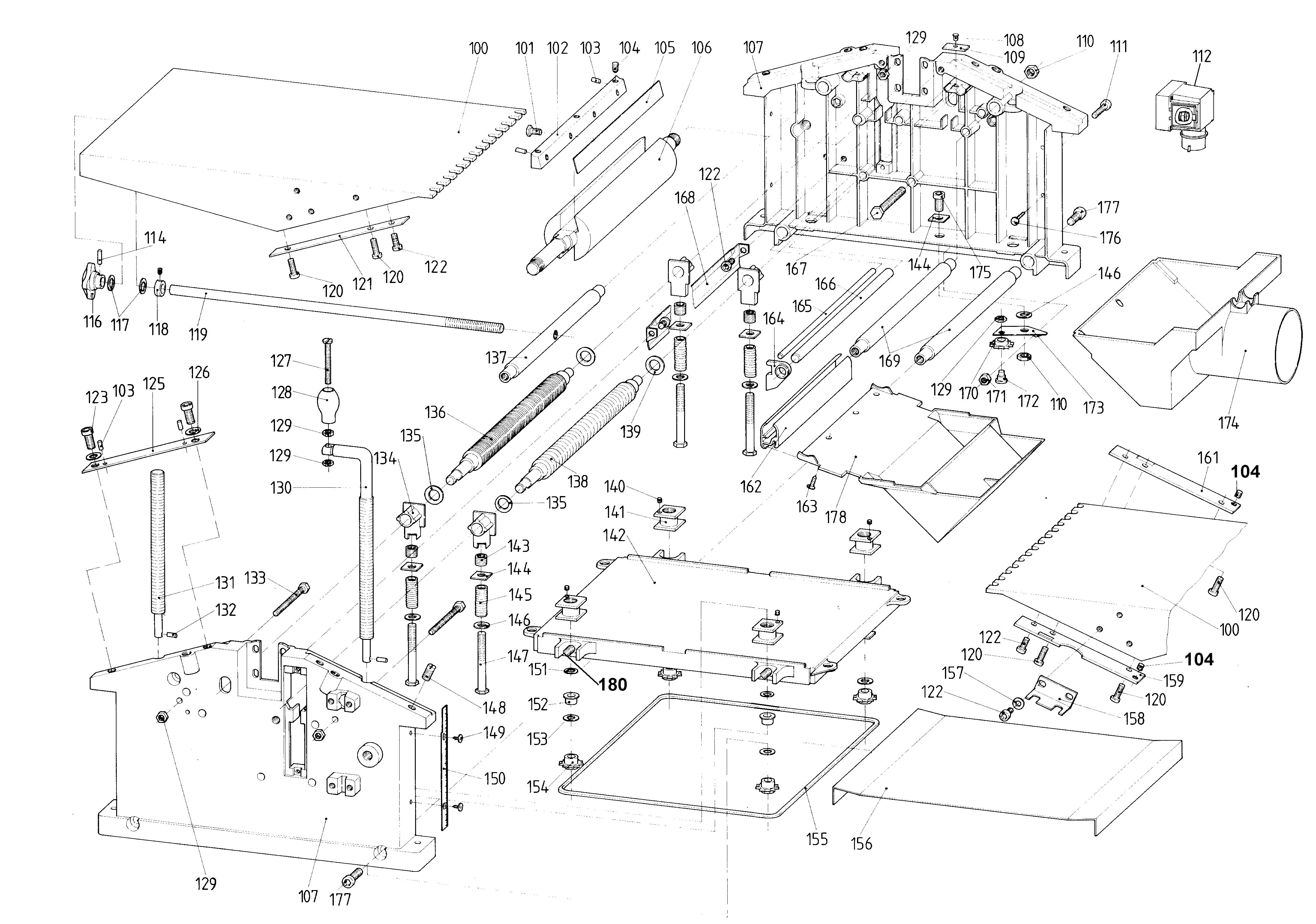 Czci Zamienne Do Strug Hc260k 310wnb Sklep Z Czciami Metabo Wiring Diagram Hc 260 K 310 Wnb 0112026053 11